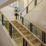 White Marble Stairs And Handrail Stock Photo Download Image Now Istock