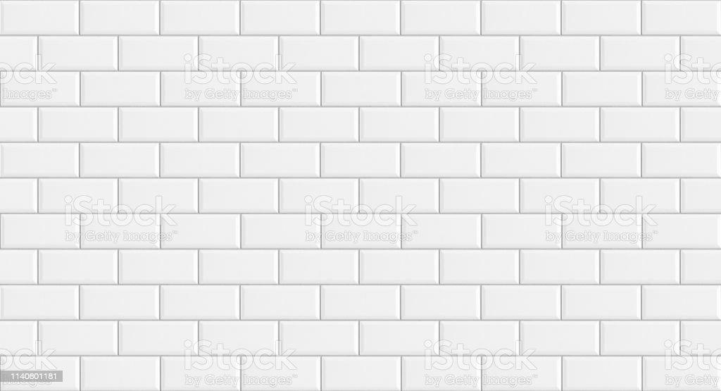 photo libre de droit de rectangle blanc mosaique carreaux fond de texture carreau de metro blanc classique longue image large banque d images et plus d images libres de droit de abstrait istock