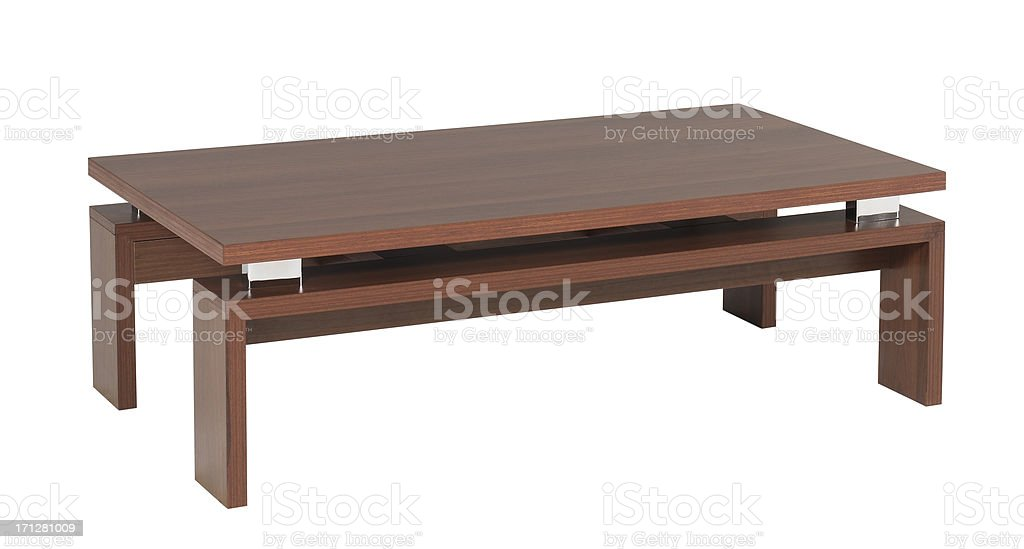 https www istockphoto com photo a wooden coffee table on a white background gm171281009 20858762