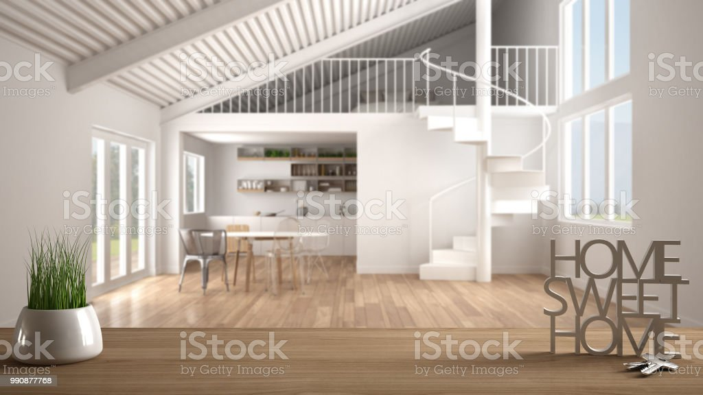 May 20, 2016· customizing staircases. Wooden Table With Potted Plant House Keys And 3d Letters Home Sweet Home Over Blurred Open Space With Kitchen Mezzanine And Spiral Staircase Background Interior Design Stock Photo Download Image Now
