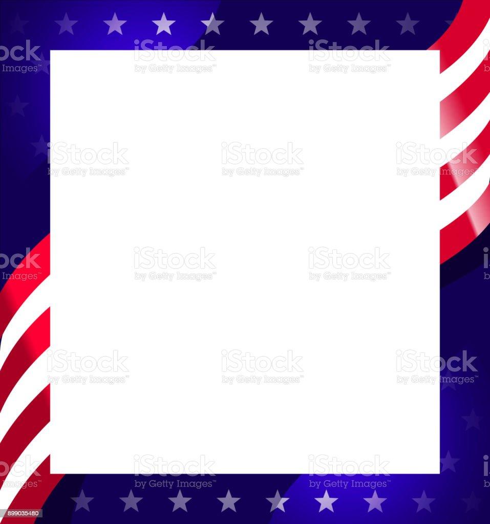 Flag American Clip Art Border
