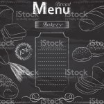 Bread Menu Chalk Stock Illustration Download Image Now Istock