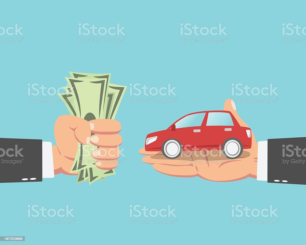 Best Used Car Lot Illustrations Royalty Free Vector