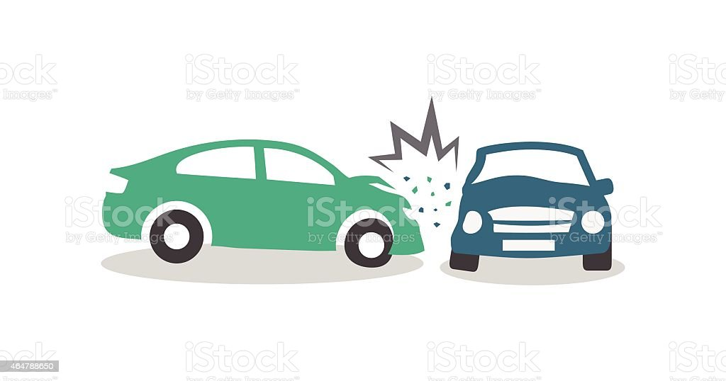 Best Car Accident Illustrations, Royalty-Free Vector