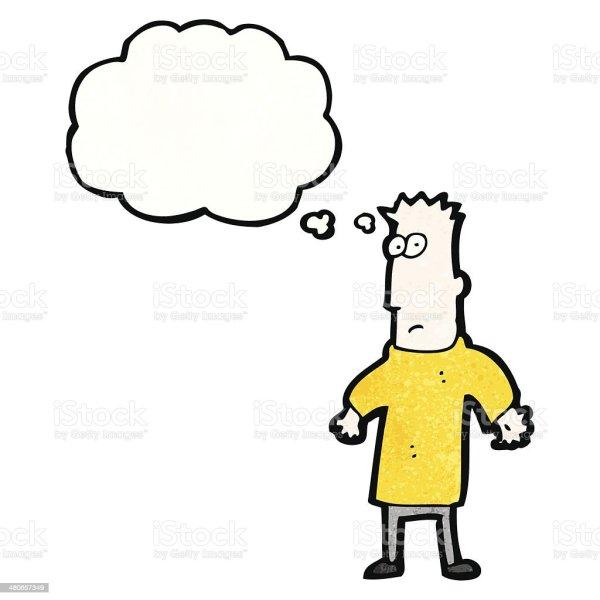Думающий Человек. Картинка