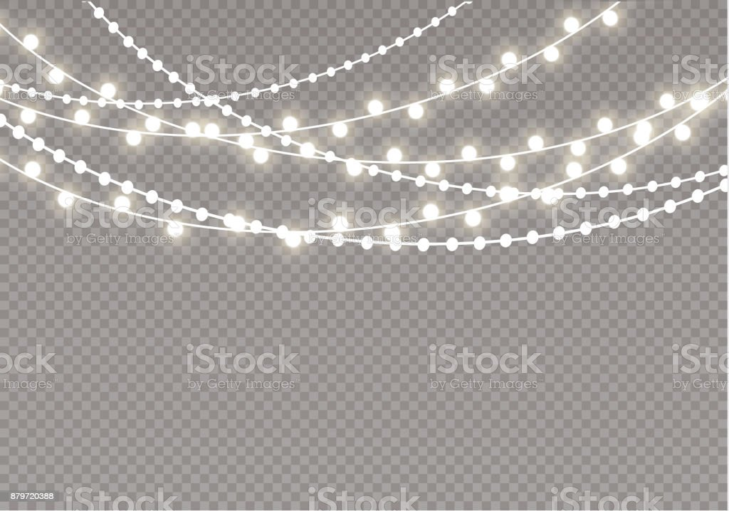 Royalty Free String Lights Clip Art Vector Images