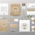 Corporate Identity Template Business Set For Coffee Shop Cafe Restaurant Branding Mockups Stock Illustration Download Image Now Istock