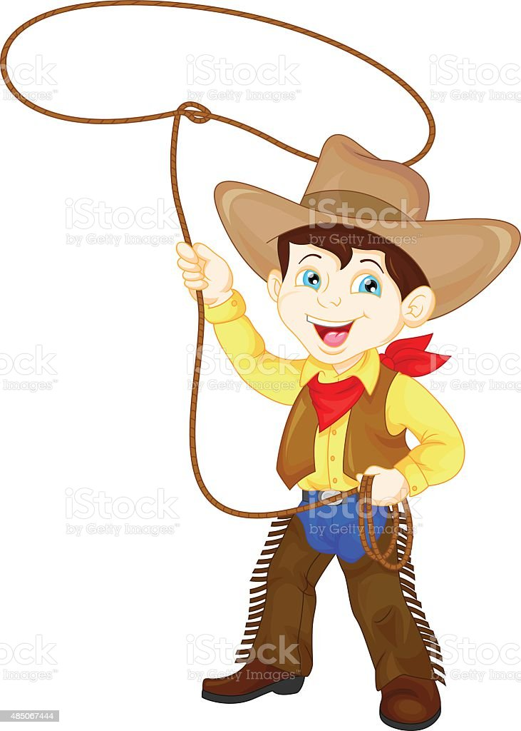 Kids Rodeo Illustrations Royalty Free Vector Graphics