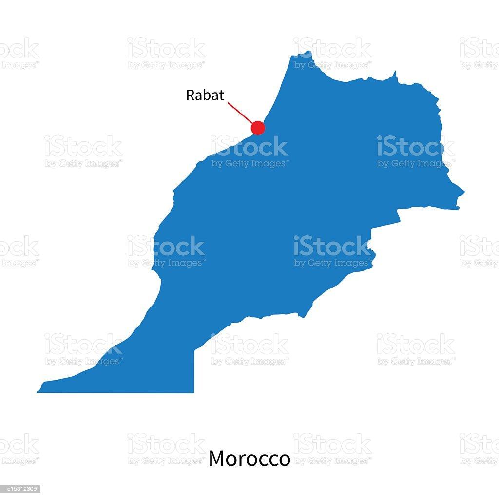 Cartina Marocco Da Colorare.Mappa Di Marocco