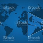 Detailed World Map With Pinned Enlarged Map Of East Timor And Neighboring Countries Stock Illustration Download Image Now Istock