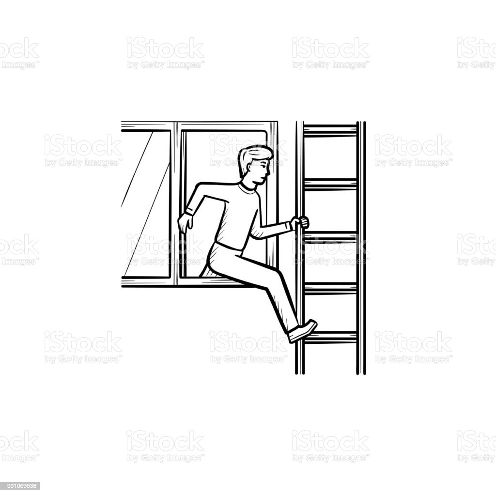 Fire accident hand drawn sketch icon stock vector art more images