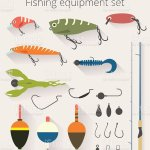 Fishing Set Accessories For Spinning And Bait Float Stock Illustration Download Image Now Istock