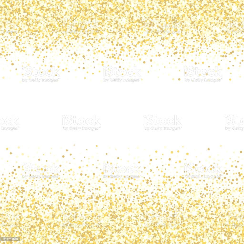 golden stars new year border
