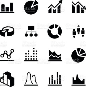 Graphdiagram Icons Stock Vector Art & More Images of 2015