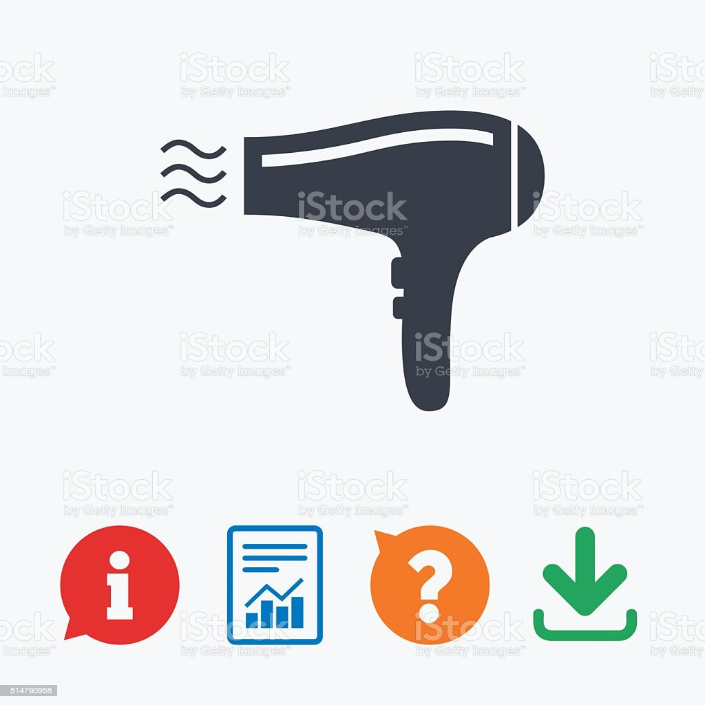 Royalty Free Hair Dryer Clip Art Vector Images
