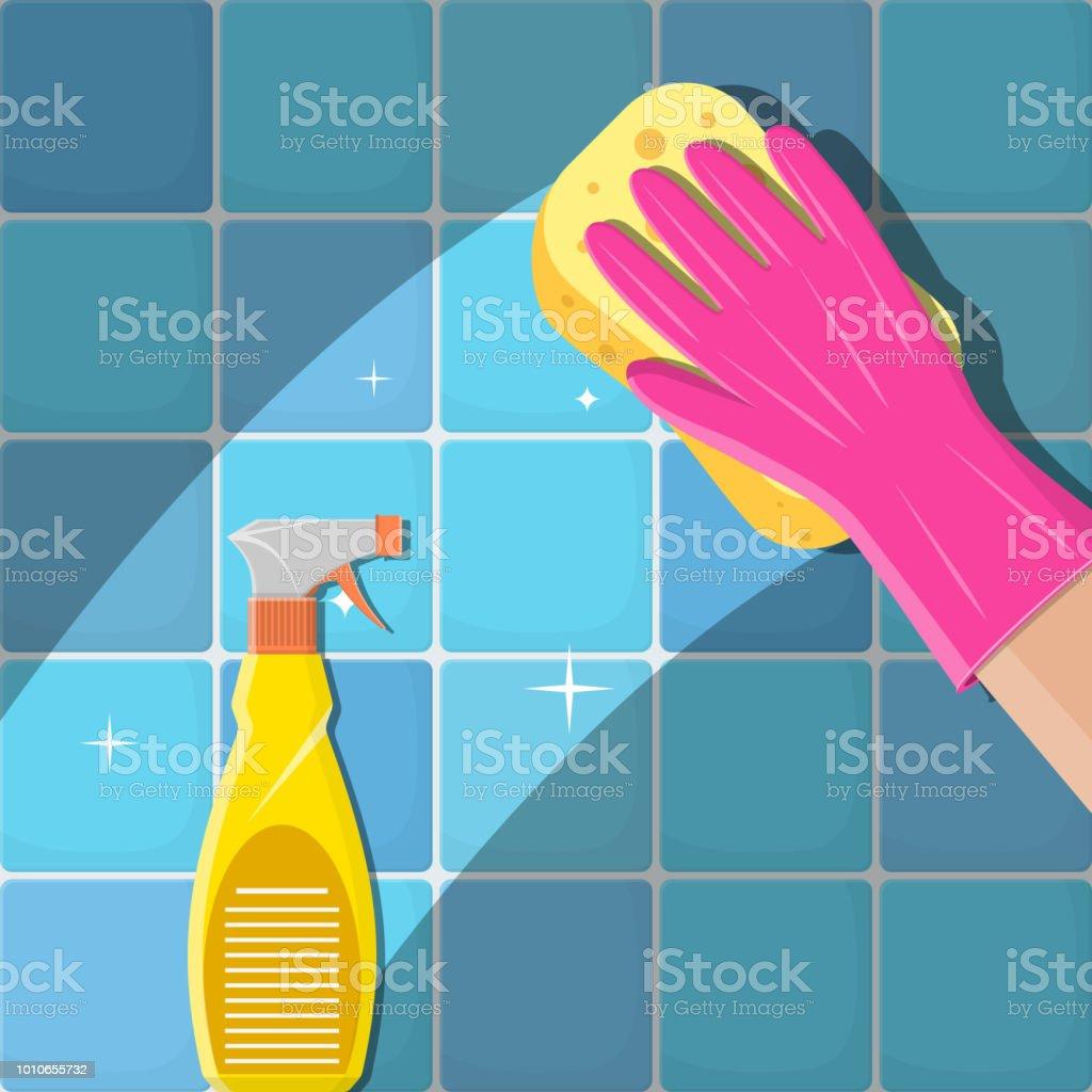 167 bathroom tile cleaner illustrations clip art
