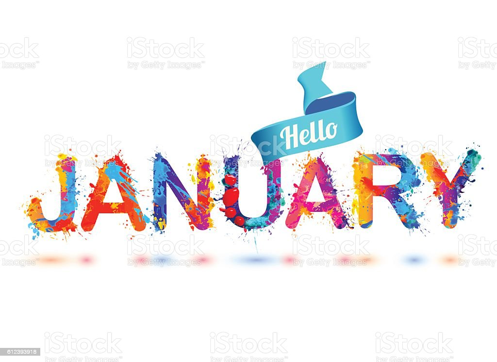 Best January Illustrations, Royalty-Free Vector Graphics ...