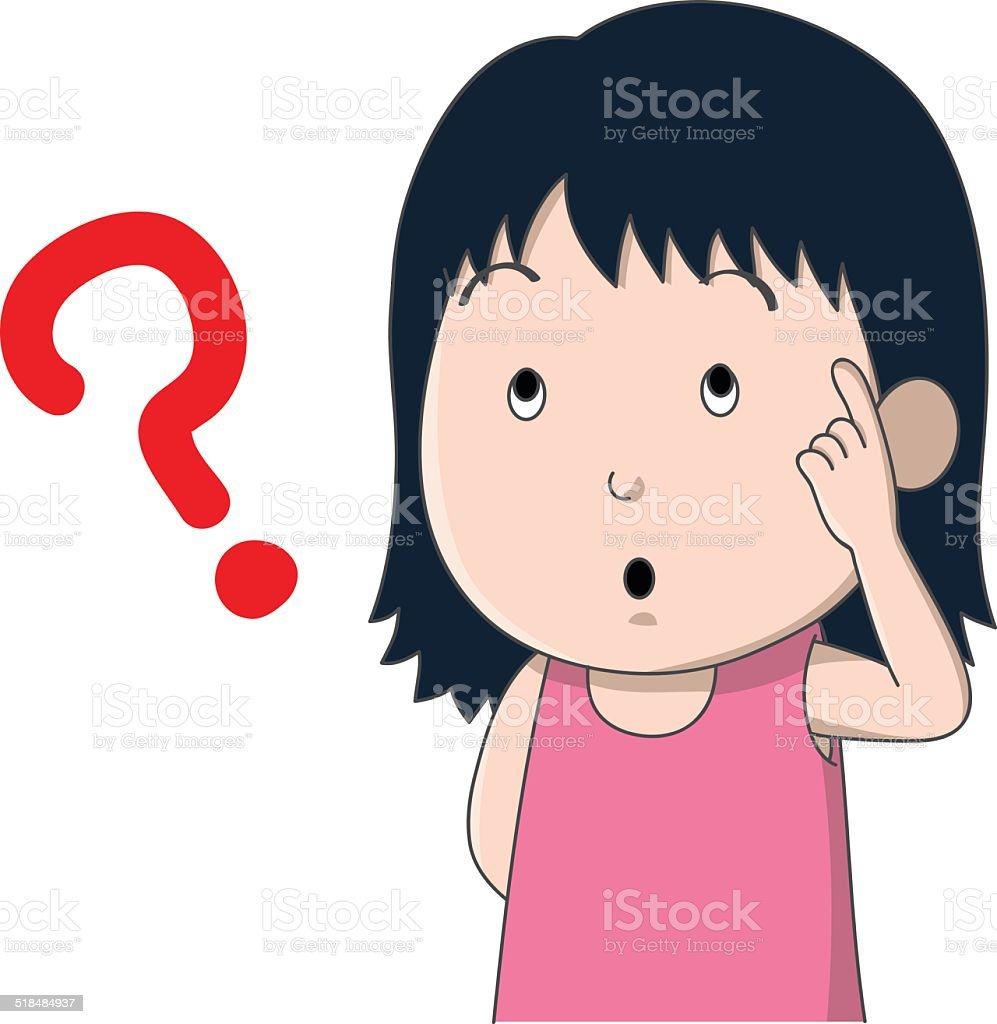 Best Cartoon Of The Pink Question Mark Illustrations