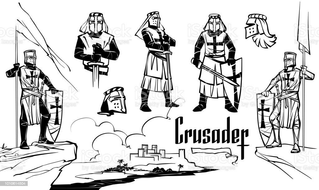 Royalty Free Templar Crosses Clip Art, Vector Images
