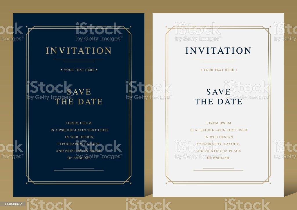 invitation vector art graphics freevector com
