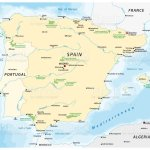 Map Of The Iberian Peninsula Stock Illustration Download Image Now Istock
