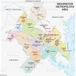 Map Of Washington Dc Metropolitan Area Is The Metropolitan Area Based In Washington Dc Stock Illustration Download Image Now Istock