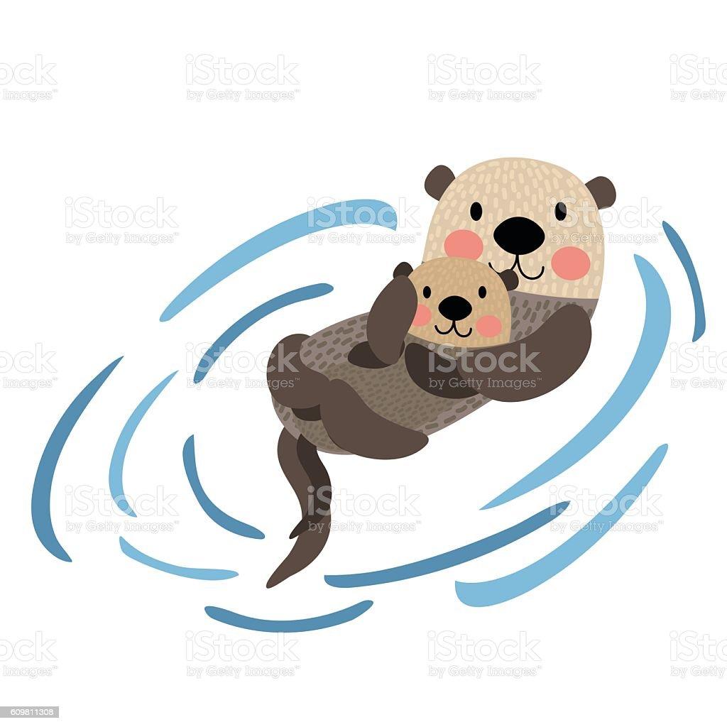 Sea Lion Swimming Clip Art