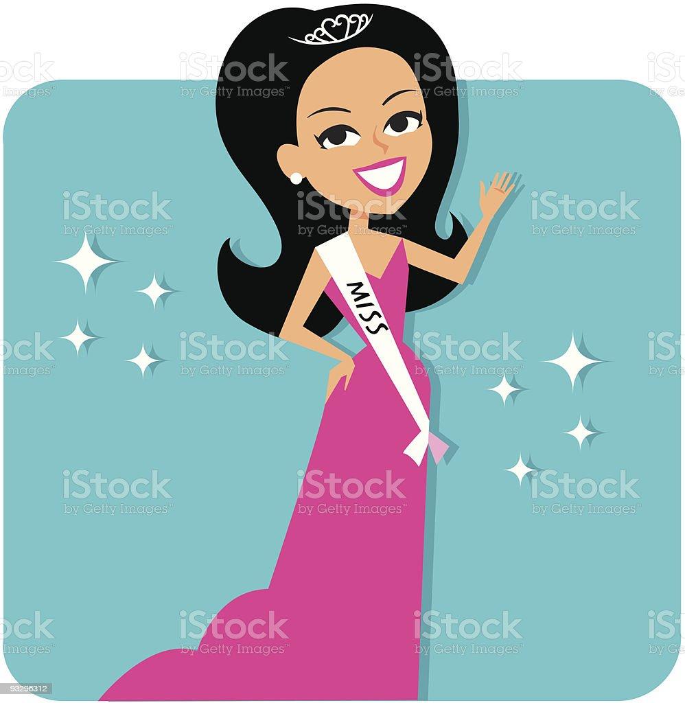 Best Beauty Pageant Illustrations RoyaltyFree Vector