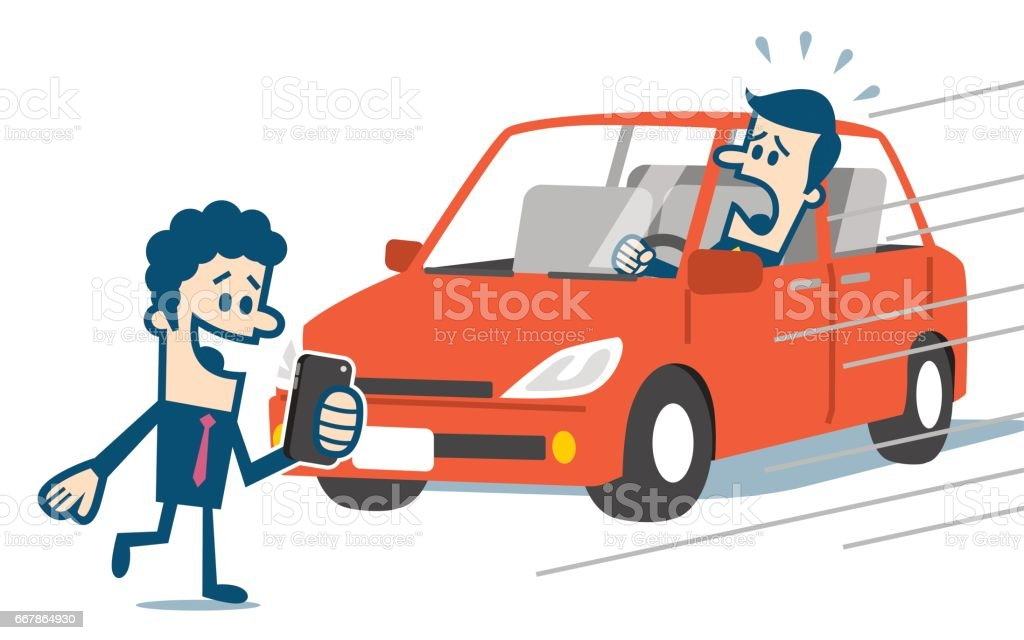 Car Accident Scene Illustrations Royalty Free Vector Graphics Amp Clip Art Istock