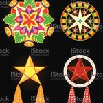 Philippine Commercial Christmas Lantern Decorations Stock Illustration Download Image Now Istock