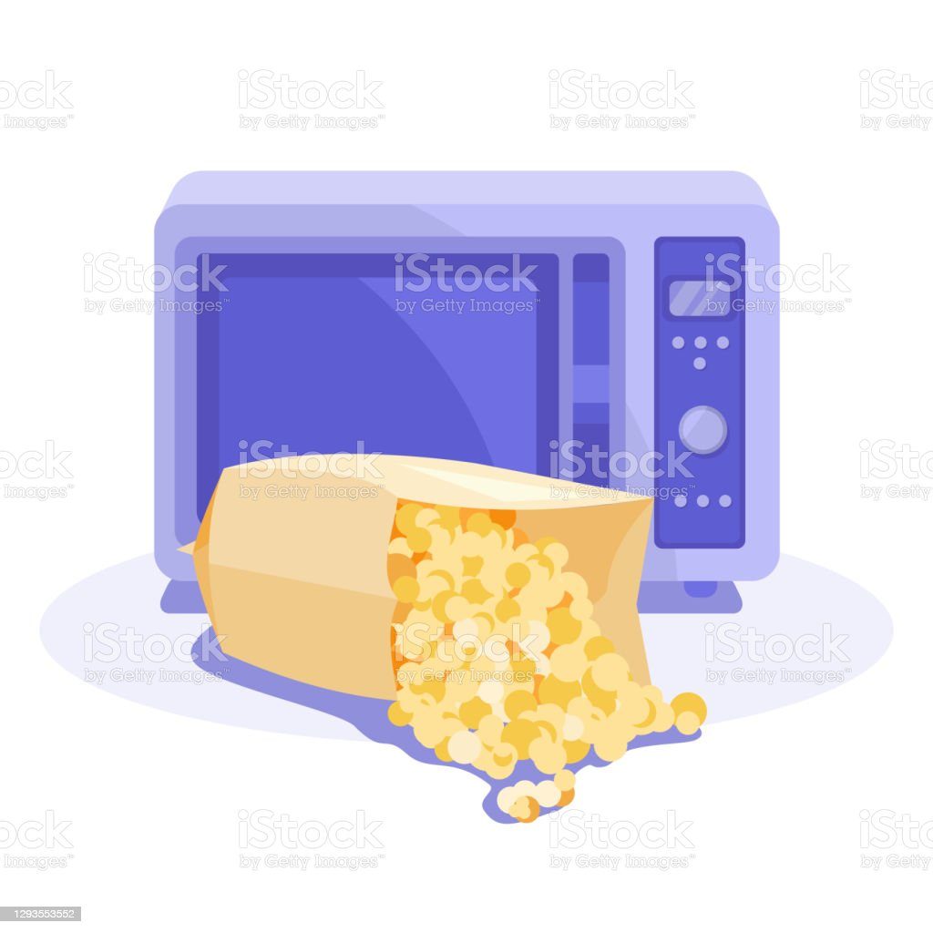 82 microwave popcorn illustrations clip art istock