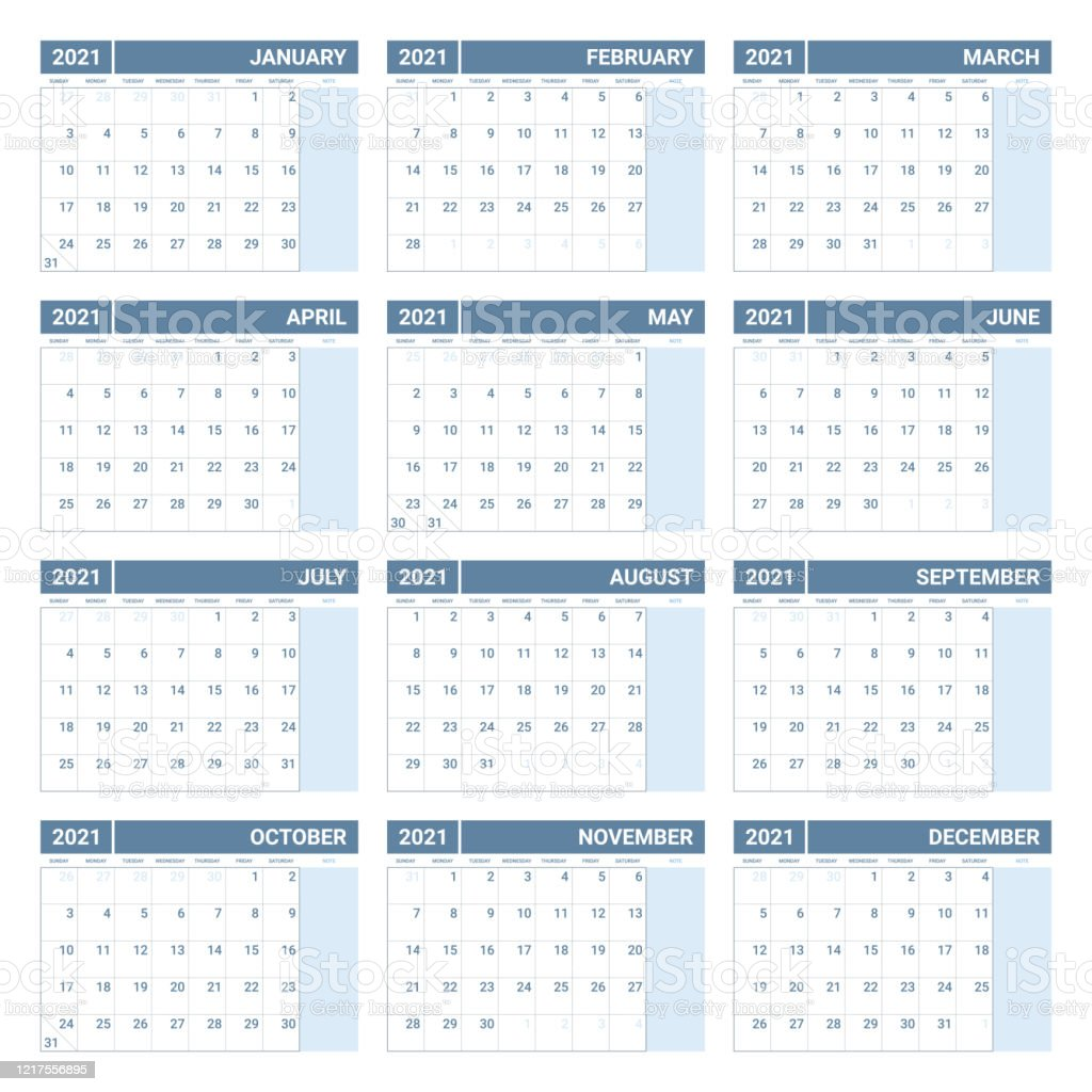 Maybe you're looking to explore the country and learn about it while you're planning for or dreaming about a trip. Printable 2021 Yearly Calendar Template In Simple Design ...