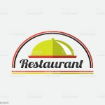 Ilustracion De Restaurant Logo Design Y Mas Vectores Libres De Derechos De Alimento Istock