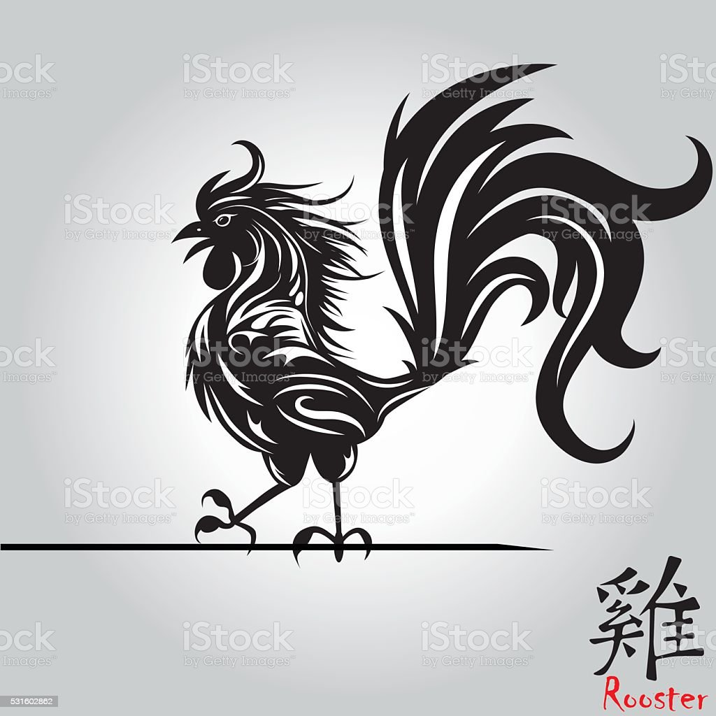 Tattoos Chinese Rooster