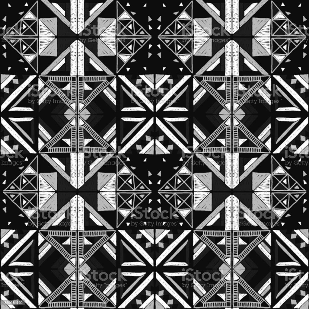 https www istockphoto com fr vectoriel motif africaine sans soudure ornement ethnique sur le tapis style azt c3 a8que figure gm869634662 144895923