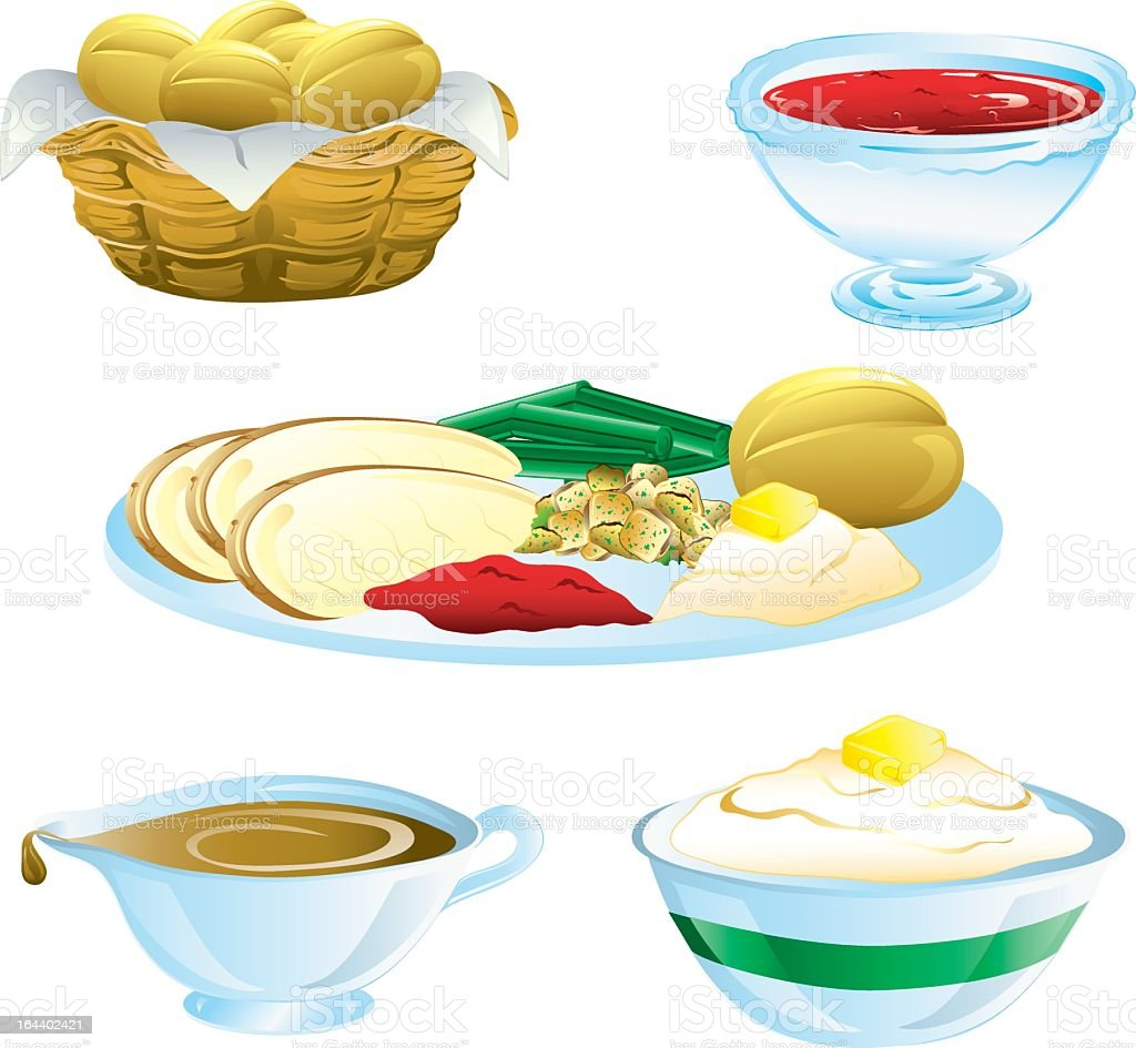 Art Potatoes And Gravy Clip