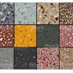 Set Of Terrazzo Flooring Seamless Pattern Stock Illustration Download Image Now Istock