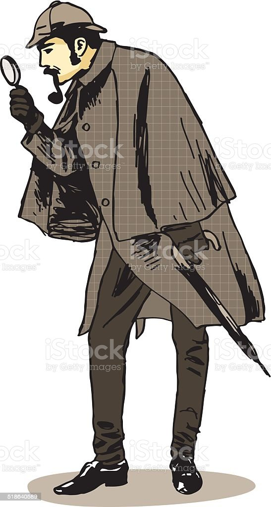 Sherlock Holmes Investigator Stock Vector Art Amp More