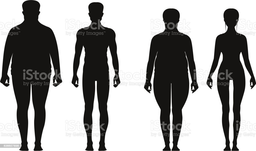 Royalty Free Overweight Clip Art, Vector Images