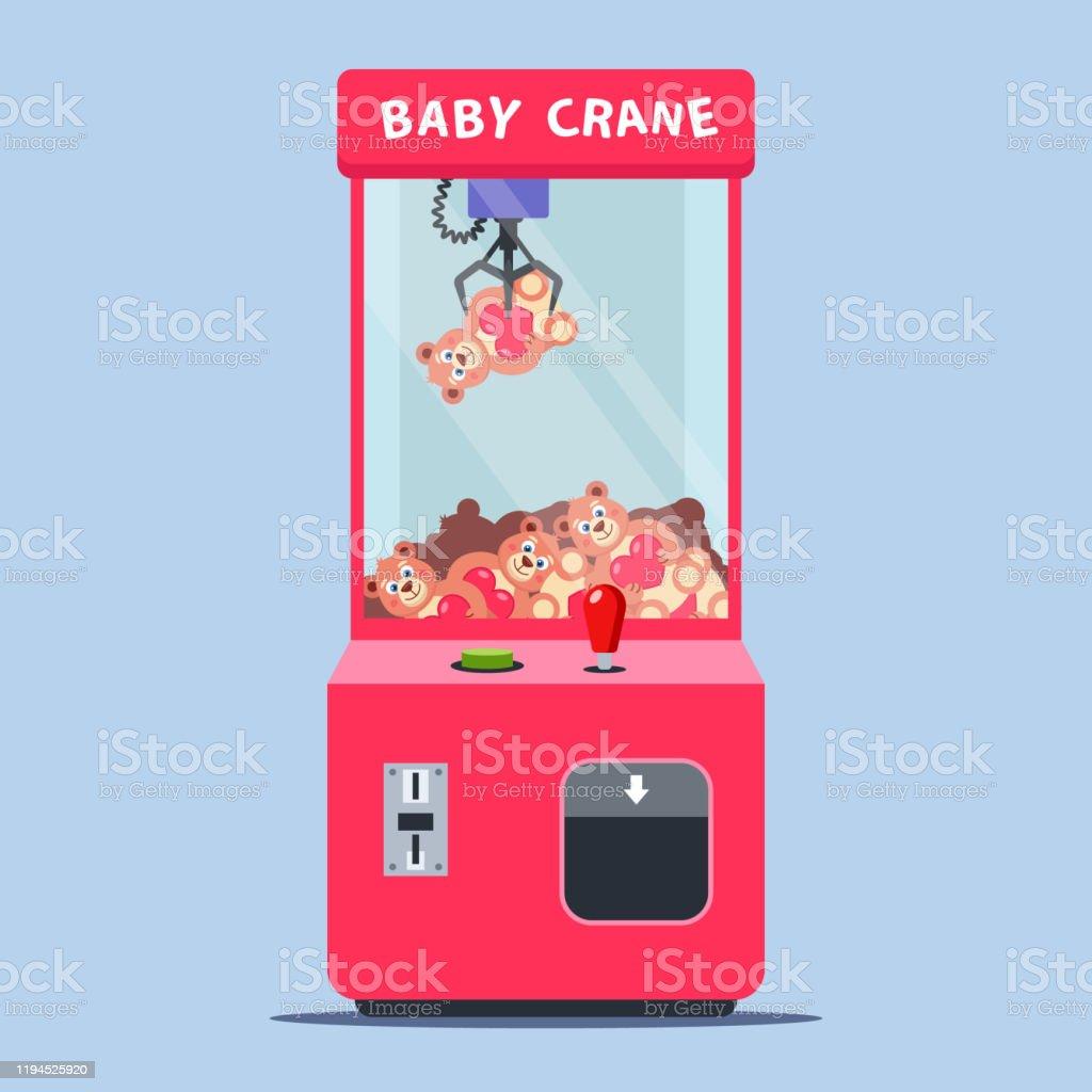 https www istockphoto com fr vectoriel machine c3 a0 sous avec des jouets dans un centre commercial gagner un jouet en gm1194525920 340175012