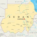 Sudan Political Map Stock Illustration Download Image Now Istock