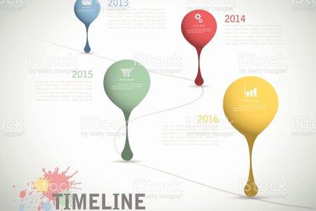 Timeline Template For Business Design Reports Step Present Stock     Timeline template for business design  reports  step present royalty free  timeline template for