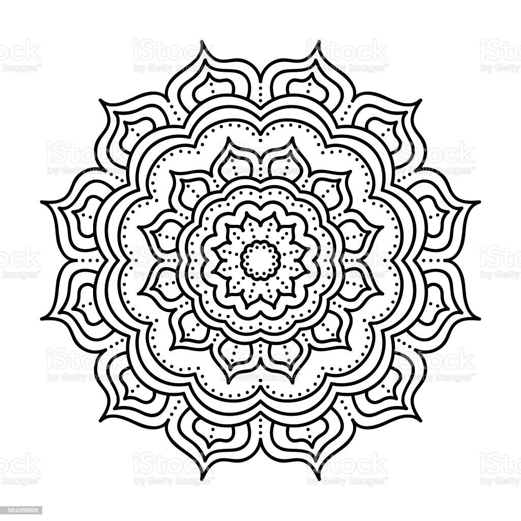 Lace Pattern Design Drawing Templates