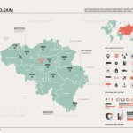 Vector Map Of Belgium High Detailed Country Map With Division Cities And Capital Brussels Political Map World Map Infographic Elements Stock Illustration Download Image Now Istock
