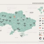 Vector Map Of Ukraine Country Map With Division Cities And Capital Kiev Political Map World Map Infographic Elements Stock Illustration Download Image Now Istock