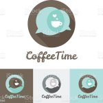 Vector Modern Flat Coffee Shop Cafe Or Restaurant Logo Stock Illustration Download Image Now Istock