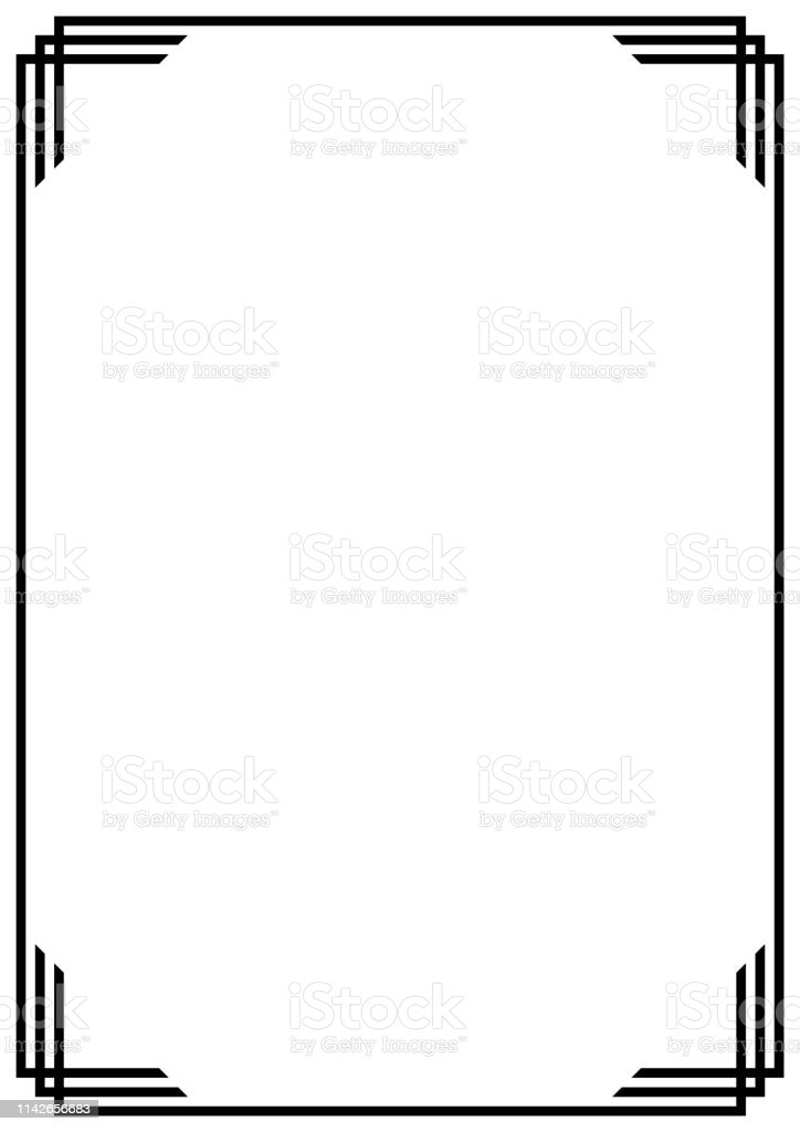File decoration ideas, page decoration, boarder designs, page borders design. Vector Page Border A4 Design For Project Stock Illustration Download Image Now Istock