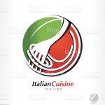 Ilustracion De Vector Pasta Logo Spaghetti Symbol Italian Cuisine Restaurant Y Mas Vectores Libres De Derechos De Ilustracion Istock