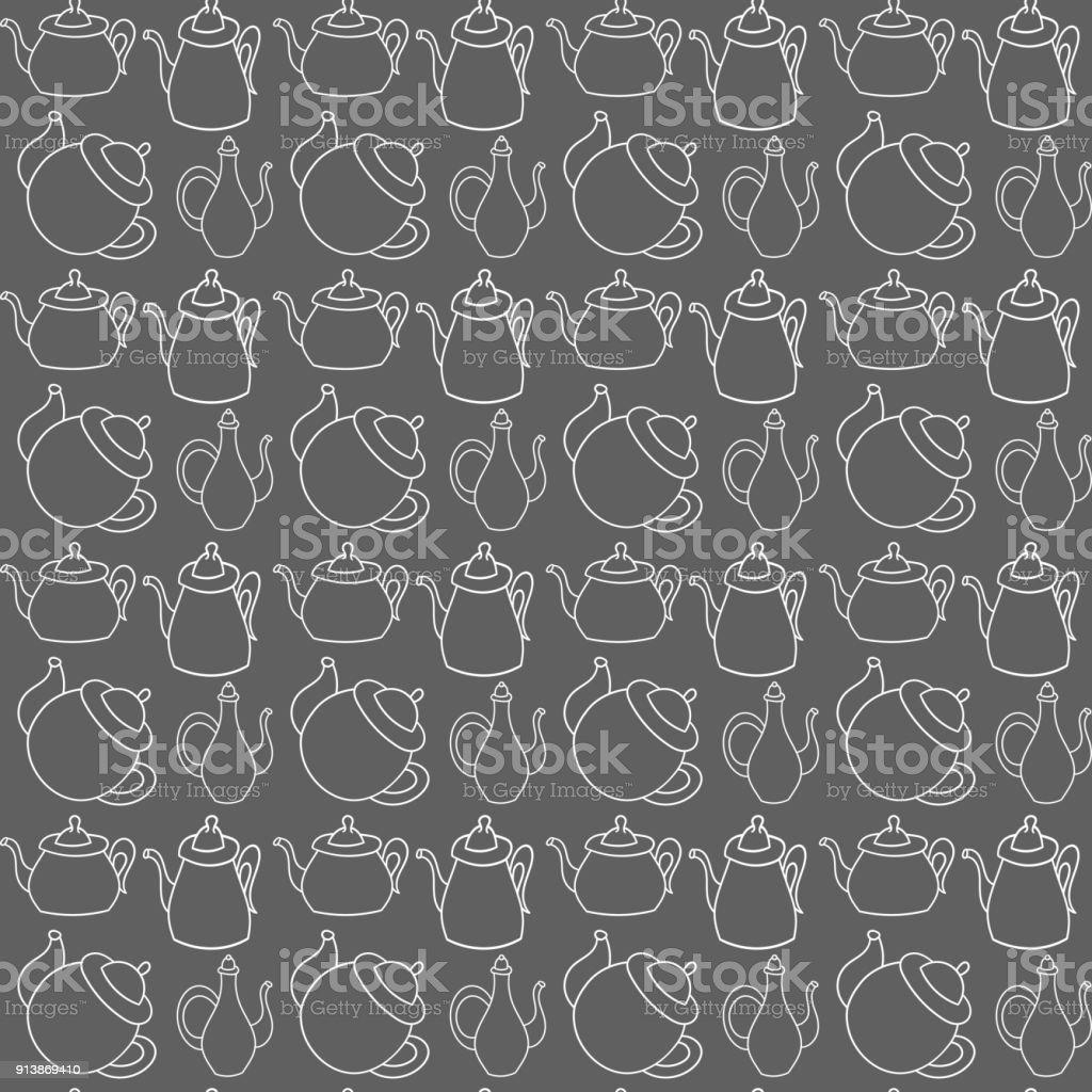 https www istockphoto com fr vectoriel vecteur transparente motif de th c3 a9i c3 a8res en style scandinave utilis c3 a9 pour les fonds gm913869410 251554796