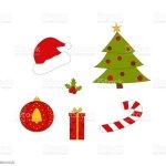Vektorset Weihnachtsbaum Weihnachtskugel Sussigkeiten Geschenkbox S Stock Vektor Art Und Mehr Bilder Von Baum Istock